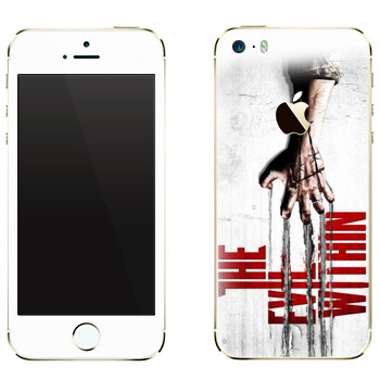 Виниловая наклейка «The Evil Within» на телефон Apple iPhone 5