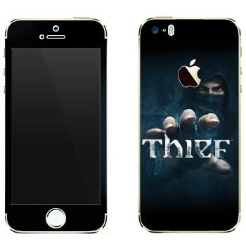 Виниловая наклейка «Thief - Игра» на телефон Apple iPhone 5