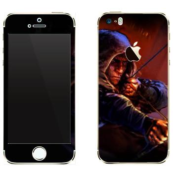 Виниловая наклейка «Thief - Лучник» на телефон Apple iPhone 5