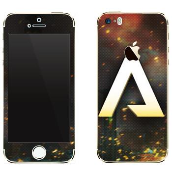 Виниловая наклейка «Titanfall лого» на телефон Apple iPhone 5