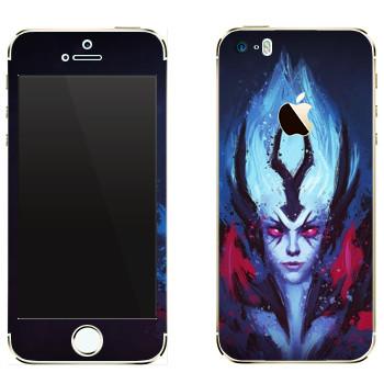 Виниловая наклейка «Vengeful Spirit - Dota 2» на телефон Apple iPhone 5