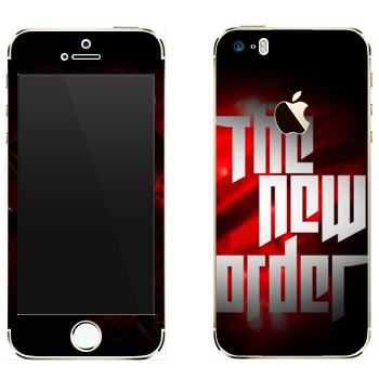 Виниловая наклейка «Wolfenstein - Новый порядок» на телефон Apple iPhone 5