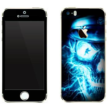 Виниловая наклейка «Wolfenstein - Рентген» на телефон Apple iPhone 5