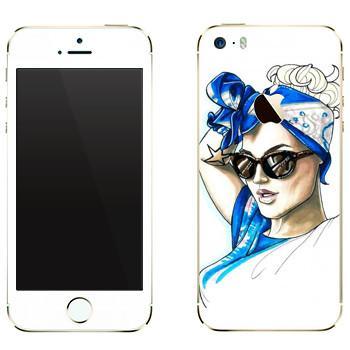 Виниловая наклейка «Знаменитость» на телефон Apple iPhone 5