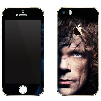 Виниловая наклейка «Тирион Ланнистер» на телефон Apple iPhone 5S