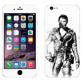 Виниловая наклейка «Безумный Макс old school» на телефон Apple iPhone 6 Plus/6S Plus
