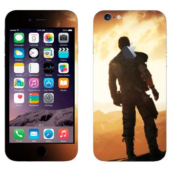 Виниловая наклейка «Безумный Макс» на телефон Apple iPhone 6 Plus/6S Plus