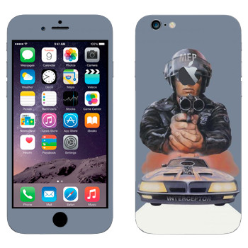 Виниловая наклейка «Mad Max 80-х» на телефон Apple iPhone 6 Plus/6S Plus