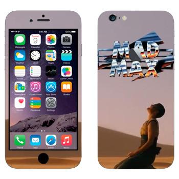 Виниловая наклейка «Mad Max девушка» на телефон Apple iPhone 6 Plus/6S Plus