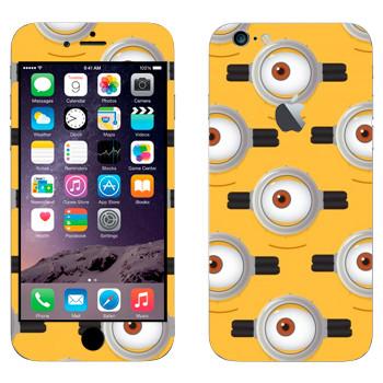 Виниловая наклейка «Глаз Миньона» на телефон Apple iPhone 6 Plus/6S Plus