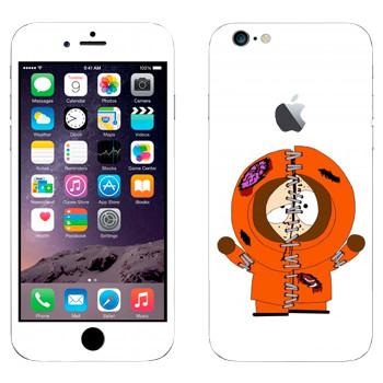 Виниловая наклейка «Кенни потрепанный - Южный Парк» на телефон Apple iPhone 6 Plus/6S Plus