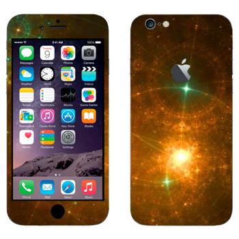 Виниловая наклейка «Звездная россыпь - Космос» на телефон Apple iPhone 6 Plus/6S Plus