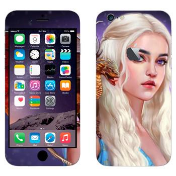 Виниловая наклейка «Дейенерис Таргариен» на телефон Apple iPhone 6 Plus/6S Plus