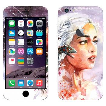 Виниловая наклейка «Дейенерис» на телефон Apple iPhone 6 Plus/6S Plus