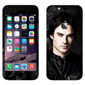 Виниловая наклейка «Деймон Сальваторе» на телефон Apple iPhone 6 Plus/6S Plus