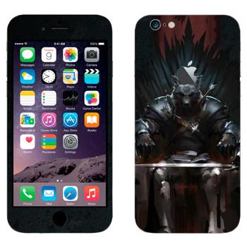Виниловая наклейка «Игра престолов Железный Трон» на телефон Apple iPhone 6 Plus/6S Plus