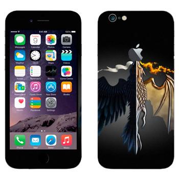 Виниловая наклейка «Игра престолов logo» на телефон Apple iPhone 6 Plus/6S Plus