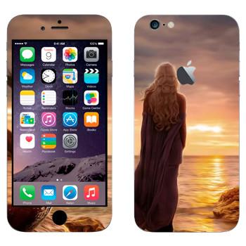 Виниловая наклейка «Королева Дейенерис» на телефон Apple iPhone 6 Plus/6S Plus