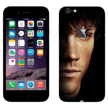 Виниловая наклейка «Сэм Винчестер» на телефон Apple iPhone 6 Plus/6S Plus