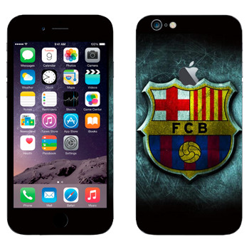 Виниловая наклейка «Barcelona fog» на телефон Apple iPhone 6 Plus/6S Plus