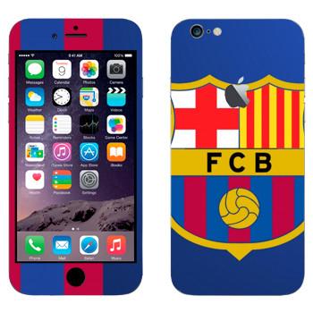 Виниловая наклейка «Barcelona Logo» на телефон Apple iPhone 6 Plus/6S Plus