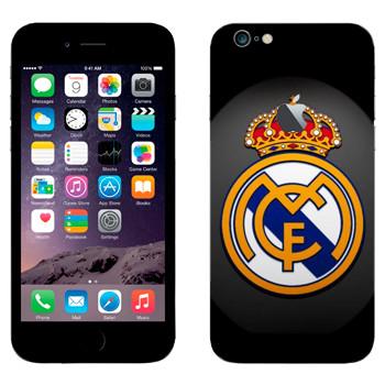 Виниловая наклейка «Real logo» на телефон Apple iPhone 6 Plus/6S Plus
