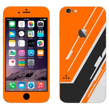 Виниловая наклейка «Titanfall текстура» на телефон Apple iPhone 6 Plus/6S Plus