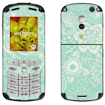 Motorola E1, E398 Rokr