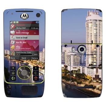 Виниловая наклейка «Вид на Майами» на телефон Motorola Z8 Rizr