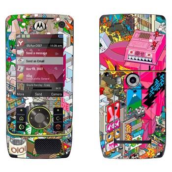 Виниловая наклейка «eBoy - Токио» на телефон Motorola Z8 Rizr