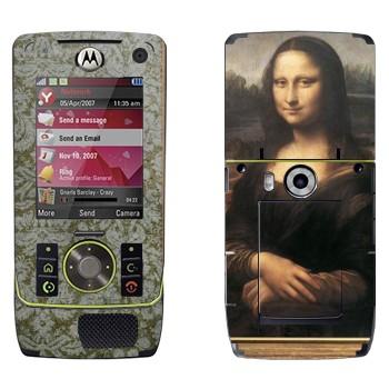 Виниловая наклейка «Мона Лиза - Леонардо да Винчи» на телефон Motorola Z8 Rizr
