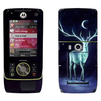 Виниловая наклейка «Северный олень» на телефон Motorola Z8 Rizr