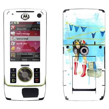 Виниловая наклейка «Весна в воздухе» на телефон Motorola Z8 Rizr