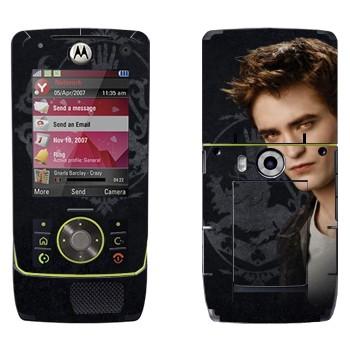 Виниловая наклейка «Edward Cullen» на телефон Motorola Z8 Rizr