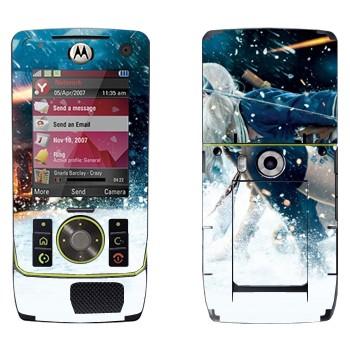 Виниловая наклейка «Sucker Punch» на телефон Motorola Z8 Rizr