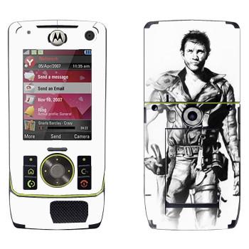 Виниловая наклейка «Безумный Макс old school» на телефон Motorola Z8 Rizr