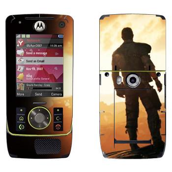 Виниловая наклейка «Безумный Макс» на телефон Motorola Z8 Rizr