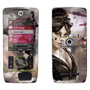 Виниловая наклейка «Блонди - Запрещённый приём» на телефон Motorola Z8 Rizr