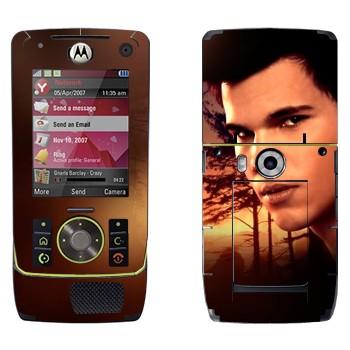 Виниловая наклейка «Джейкоб - Сумерки» на телефон Motorola Z8 Rizr