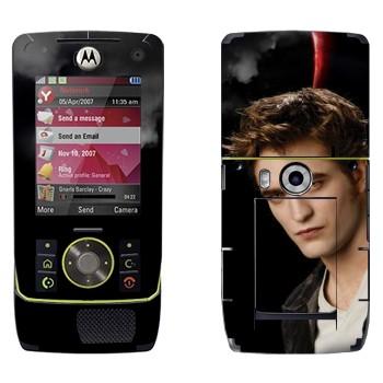 Виниловая наклейка «Эдвард - Сумерки» на телефон Motorola Z8 Rizr