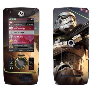 Виниловая наклейка «Клон - Звездные войны» на телефон Motorola Z8 Rizr