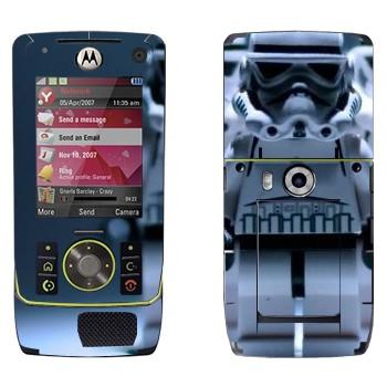 Виниловая наклейка «Клоны из Звездных войн в стиле Лего» на телефон Motorola Z8 Rizr