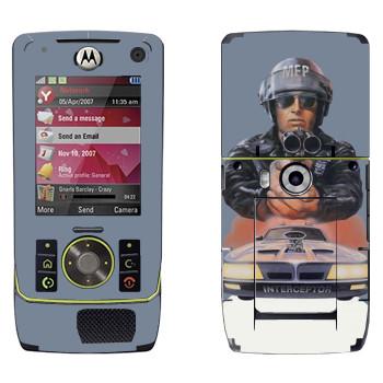Виниловая наклейка «Mad Max 80-х» на телефон Motorola Z8 Rizr