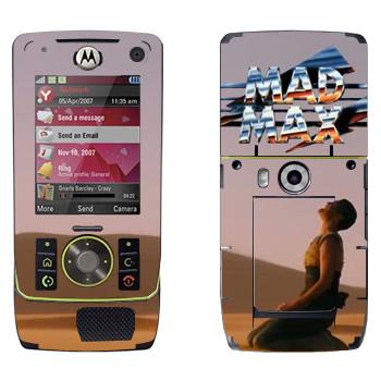 Виниловая наклейка «Mad Max девушка» на телефон Motorola Z8 Rizr