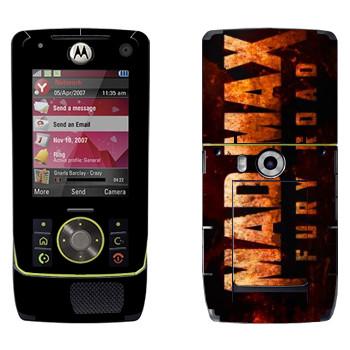Виниловая наклейка «Mad Max: Fury Road logo» на телефон Motorola Z8 Rizr