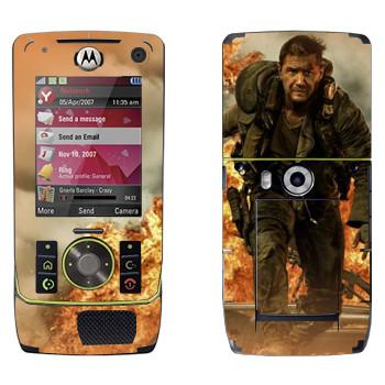 Виниловая наклейка «Mad Max взрыв» на телефон Motorola Z8 Rizr