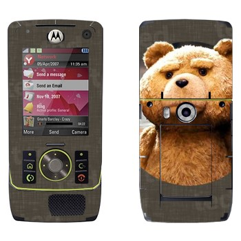 Виниловая наклейка «Медведь Тед» на телефон Motorola Z8 Rizr