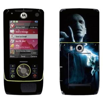 Виниловая наклейка «Волан де Морт - Гарри Поттер» на телефон Motorola Z8 Rizr