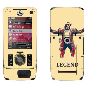 Виниловая наклейка «Dark Souls легенда» на телефон Motorola Z8 Rizr