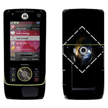 Виниловая наклейка «Лицо - Watch Dogs» на телефон Motorola Z8 Rizr